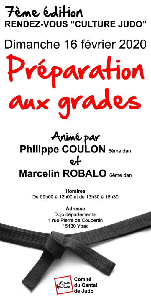 """7ème Rendez-vous """"Culture Judo"""" @ Dojo départemental"""